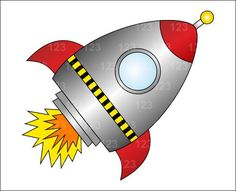 nasa+spaceship+clipart