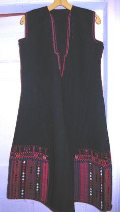 Bulgarian boiled wool dress - 'fustan'