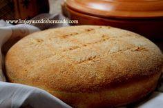 khobz el koucha (a special Algerian bread) Algerian Recipes, Middle Eastern Recipes, Yummy Food, Bread, Vegan, Homemade Food, Baking, Desserts, Food Online