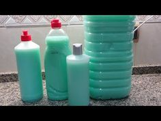 Jabón Multiuso Para Los Platos - Suelos Y Ropa - YouTube Natural Face, Diy Cleaning Products, Drink Bottles, Water Bottle, Soap, Make It Yourself, Bingo, Youtube, Tips