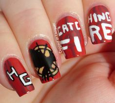 Dipped in Lacquer - The Hunger Games Catching Fire