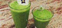Drei leckere grüne Smoothie - Rezepte und Empfehlungen jetzt auf meinem Blog :) #healthy #gesund #fit #Energie #veggiefood4fit #grünersmoothie #greensmoothie #Rezept #einfach #lecker