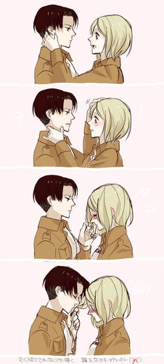 Levi Rivaile and Petra Ral being the most adorable pairing ever // SNK