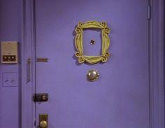 FRIENDS tv show 90s Monica's Apartment Peephole by LaRetrotienda