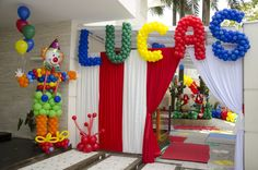 1000 Ideas para tu cumple : Ideas de Decoración de fiesta infantil tema Circo…