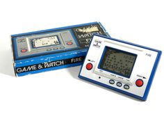 (*** http://BubbleCraze.org - You'll never put this Android/iPhone game down! ***)  Nintendo Game & Watch Fire RC-04 Boxed MIJ 1980 Great Condition Free Shipping #Nintendo