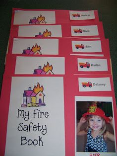 Day Care - Fire Safety Books - Things to Share and Remember