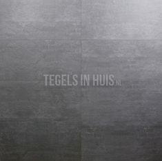 Vloertegel betonlook 30x60 donker grijs - Artikelcode: TOZCV145. - Nu in de aanbieding voor slechts € 28,50 p/m2 incl. BTW bij Tegels in Huis.nl