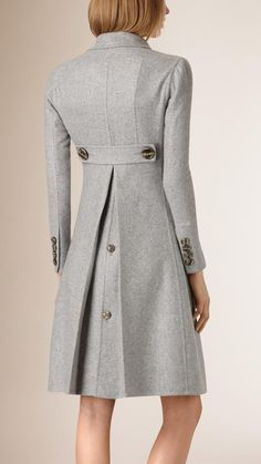 Tailored Double Breasted Cashmere Coat | Burberry