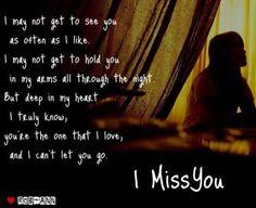 when i miss u...