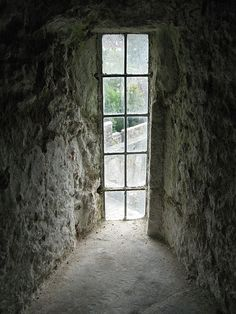 View from inside Cahir Castle