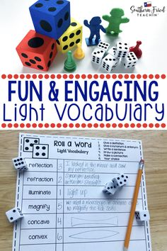 Your students will LOVE this vocabulary activity on Alternative Energy! Rolling the dice makes it fun and engaging, and they might even beg to play it! Vocabulary Activities, Science Resources, Science Lessons, Science Activities, Science Ideas, Teaching Vocabulary, Teaching Resources, Earth Sun And Moon, Sun Moon