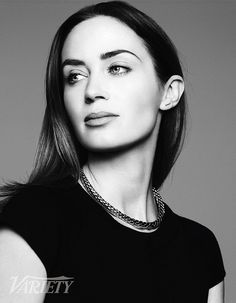 Emily Blunt by Ben Hassett for Variety • 2014