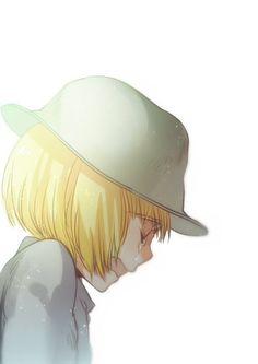 Armin Arlert Awwww Let me hug you ( / ;A;)/