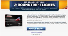 New southwest credit card offer 200 statement credit plus 10000 more links to the southwest 50000 mile credit card offer httppointswithacrewlinks southwest 50000 mile credit card offer colourmoves