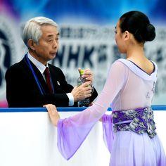 Nobuo Sato and Mao Asada    NHK Trophy 2015