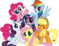 to buy on Etsy - My Little Pony cross stitch pattern PDF