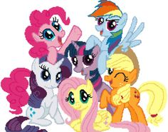My Little Pony cross stitch pattern PDF