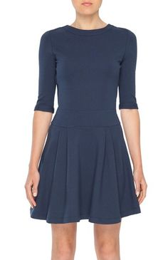 Amour Vert Staci Ponte Dress - Navy $159.00 Every occasion-approved. For the purchase of this dress, BeGood Clothing will donate a meal to the San Francisco non-profit, Project Open Hand, which delivers meals and groceries to critically ill people in the Bay Area.