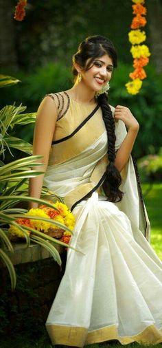 #KeralaSaree