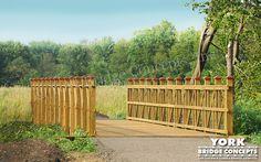 Timber Trail Bridge: Hammel Woods - Joliet, IL
