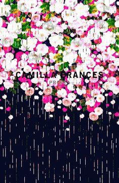 CAMILLA FRANCES PRINTS LTD, FLORAL PRINT: london based textile design studio.