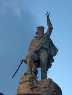 Giuseppi Garibaldi. # Carrara, Toscana. Itália.