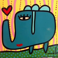 Mario, Little Elephant, Previous Life, New Artists, Art For Kids, Art Projects, Original Paintings, Mandala, Stickers