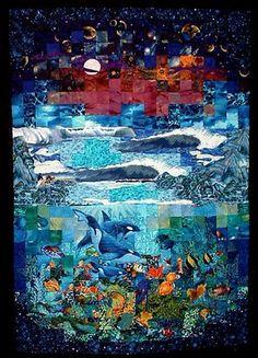 under-watercolor quilt