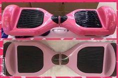 hoverboard smart balance rosa led e bluetooth