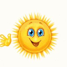 The perfect Sun Waving Hi Animated GIF for your conversation. Discover and Share the best GIFs on Tenor. Animated Smiley Faces, Funny Emoji Faces, Animated Emoticons, Funny Emoticons, Smileys, Smiley Emoji, Sun Emoji, Emoji Pictures, Emoji Images