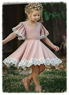 648db81a9dd Kids Girls  Sweet   Street chic Party   Holiday Solid Colored Ruffle  Sleeveless Midi   Knee-length   Above Knee Cotton   Polyester   Spandex  Dress Pink