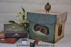 короб для сладостей   LA  MAISON DU  CHOCOLAT.