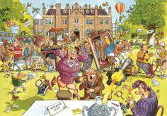 Ravensburger Wasgij Jigsaw Puzzles and Solutions   Original Wasgij - Antiques Hunt