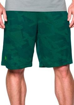 Under Armour Nova TealNothern Lights 10-in. Raid Graphic Shorts
