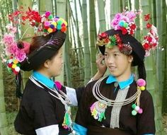 The Traditional Costume of Achang