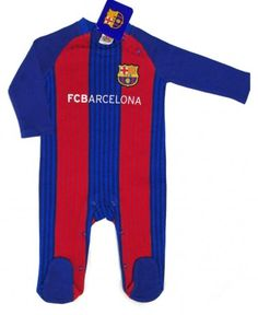 d4455866585 FC Barcelona Baby Kit Sleepsuit - 2016/17 Season Barcelona 2016, 18 Months,
