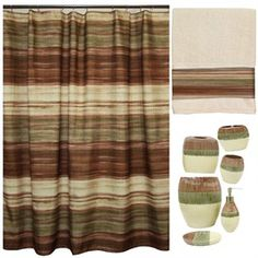 1000 images about stuff to buy on pinterest brown for Sage bathroom accessories