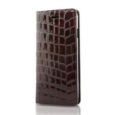 i-phone 6・6S6用エナメルクロコ EC-6/ワインレッド