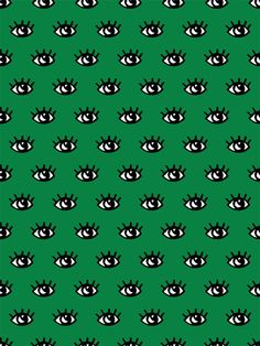 T'as de beaux yeux verts #pattern