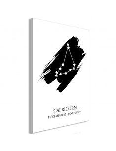 Obraz - Znaki zodiaku: Koziorożec (1-częściowy) pionowy