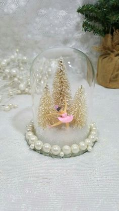 Dancin' in to the Holiday Season and Ready for Gift Giving in my #etsy shop: Ballerina Snow Globe, Vintage Ballerina, Bell Jar, Ballet Snow Globe, Winter Snow Globe, Dancer Gift, Dance Teacher Gift, Ballet Decoration #ballerinasnowglobe #homedecor #snowglobe #christmasballerina #vintageballerina http://etsy.me/2hIQYKA
