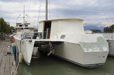 Piver Victress 40 trimaran sailboat   Trimaran Design Concepts   Pinterest   Sailboat, Sailing ...
