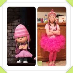 EDITH LOOKALIKE from Despicable Me!!
