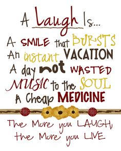 Images+and+sayings+on+laughter | Two Yellow Birds Decor: Free Laughter Subway Art Printable