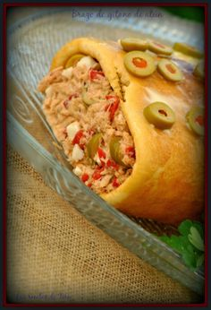 Brazo de gitano de atún. :>Las recetas de Tere;;