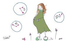 Contracciones uterinas #preparacionparto
