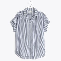 Central Shirt in Chambray Stripe - $69.50