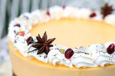 Kremasta mak limun torta – Sweetlifebykarla Orange Cookies, Panna Cotta, Recipies, Good Food, Cake, Ethnic Recipes, Desserts, Recipes, Tailgate Desserts