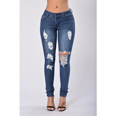 e2c52985e9c Try Harder Jeans Dark ( 15) ❤ liked on Polyvore featuring bottoms Jeans  Pants